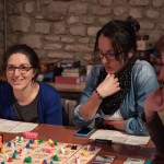 Three girls and five tribes